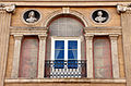 Palazzo Incontri di serafino belli (1799-1804) 04 busti, serliana.JPG