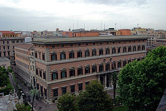 Palazzo Margherita - Image: Palazzo Margherita from above 01
