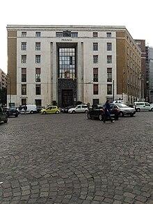 Il Palazzo Matteotti, ex sede della provincia