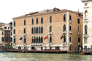 Palazzo Pisani Gritti building in Venice, Italy