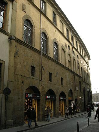 Francesco Guicciardini - Palazzo Guicciardini in Florence