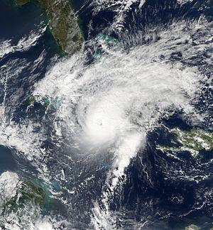 Hurricane Paloma - Image: Paloma 2008 11 08 at 1835 UTC