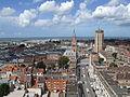 Panoramblick vom Beffroi de Dunkerque 01 - Blick Richtung Osten - Hotel de Ville.JPG