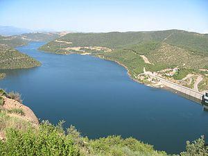 La Baronia de Rialb - Rialb Reservoir in La Baronia de Rialb