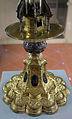 Paolo di giovanni sogliani (attr.), reliquiario in rame dorato, argento, cristallo di rocca e smalti, 1506, da s. verdiana 04.JPG