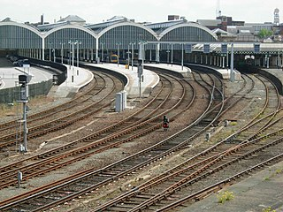 Hull Paragon Interchange train, bus and coach transport interchange located in Hull, United Kingdom