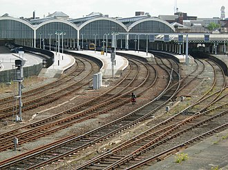 Hull Paragon Interchange - Station in May 2008