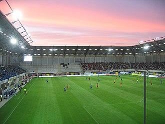 Benteler-Arena - Image: Paragon arena sc paderborn galatasaray istanbul