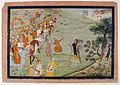 Parashurama Tests Rama's Prowess (6124591489).jpg