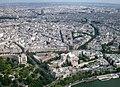 Paris, Eiffelturm, dritte Etage, Blick N 2008-06.jpg