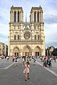 Paris (75004) Cathédrale Notre-Dame - Extérieur - Façade occidentale 01.jpg
