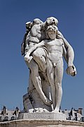 Paris - Jardin des Tuileries - Louis Ernest Barrias - Le serment de Spartacus - PA00085992 - 001.jpg