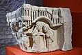 Paris - Musée de Cluny - Chapiteau engagé - Visitation, Nativité avec le prophète Isaïe - 003.jpg