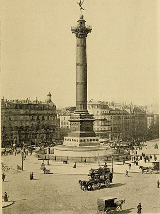 July Column - Image: Paris as seen and described by famous writers (1900) (14597971349)