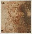 Parmigianino - Buste de jeune femme, INV 6445, Recto.jpg
