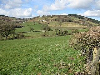 Graig Syfyrddin Hill in Wales
