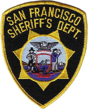 San Francisco Sheriff's Department - Image: Patch of the San Francisco Sheriff's Department