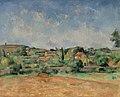 Paul Cézanne - The Bellevue Plain, also called The Red Earth (La Plaine de Bellevue, dit aussi Les Terres Rouges) - BF909 - Barnes Foundation.jpg