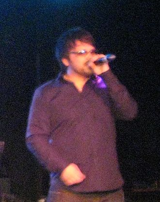 Paul Cattermole - Cattermole performing in 2010