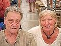 Paula & Olivier Astruc - Comédie du Livre 2010 - P1390522.jpg
