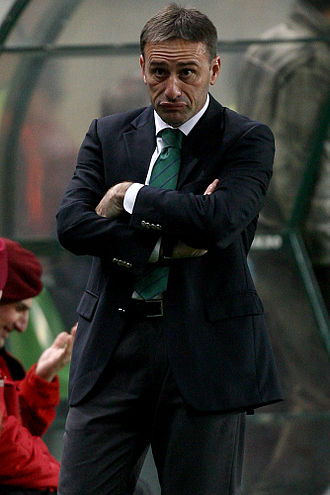 Paulo Bento - Bento as Sporting manager in 2009