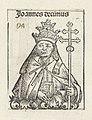 Paus Johannes X Joannes decimus (titel op object) Liber Chronicarum (serietitel), RP-P-2016-49-64-8.jpg