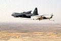 Pave Hawk refueled by HC-130 Hercules over Tallil Air Base Iraq.jpg