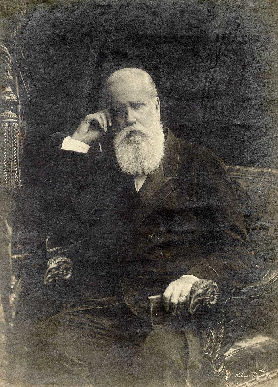 Pedro II of Brazil Paris 1887