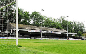 Merthyr Town F.C. - Penydarren Park, home of Merthyr Town Football Club.