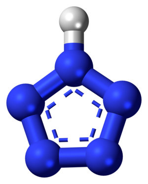 Pentazole - Image: Pentazole 3D balls