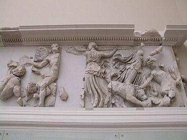 Астерия и Фебос Пергамский алтарь