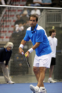 Pete Sampras in 2008
