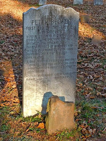 File:Peter Becker gravestones.jpg