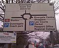 Peterborough Queensgate Roundabout Sign.jpg