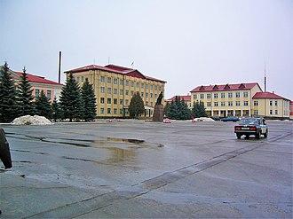 Pietrykaw - Administration building