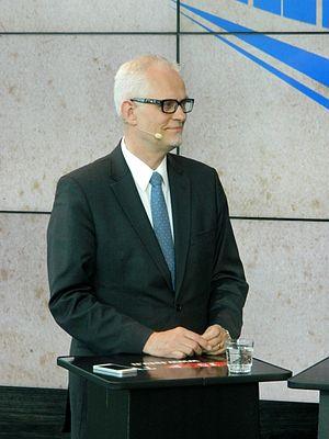 Petri Sarvamaa - Image: Petrisarvamaaeurovaa liväittely 2014sanomatalo DSCN3351 13