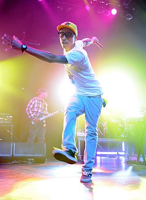 Pharrell Williams performing on September 30, ...