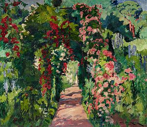 Philipp Franck - The Garden at Wannsee