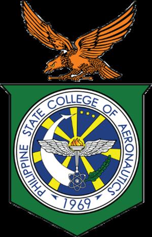 Philippine State College of Aeronautics - Seal of the Philippine State College of Aeronautics