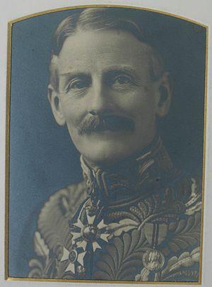 John Francis Charles, 7th Count de Salis-Soglio - Count de Salis in Court Uniform, circa 1911-1923