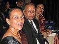 Photograph of Mr & Mrs Tudor Gunasekara with their only daughter Dayanganie.jpg