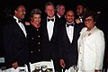 Photograph of President William J. Clinton Posing with Members of His Administration at the Congressional Black Caucus Dinner.jpg