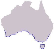 Image result for where are sea dragons commonly found NSW map