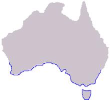 Phyllopteryx tæniolatus range map.PNG