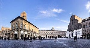 Piazza Maggiore - Panoramica