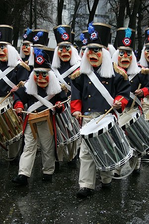 Trans (Stockhausen) - Basel Fasnacht drums.