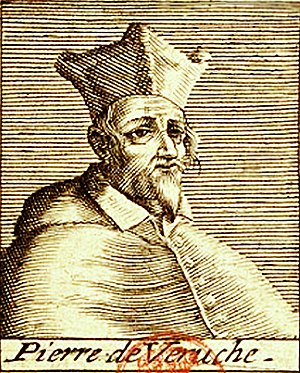 Pierre de la Vergne - Engraving of de la Vergne