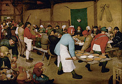 Pieter Bruegel the Elder - Peasant Wedding - Google Art Project.jpg