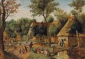 Pieter Brueghel de Jonge - Etenstijd in het land.jpg