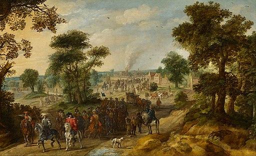 Pieter Meulener - Scene from the Thirty Years' War